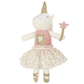 Unicorn Tooth Fairy Doll
