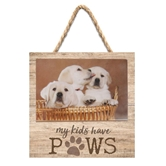 MY KIDS HAVE PAWS - 7X7