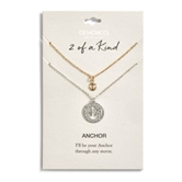 Anchor Necklace Set - Any Storm