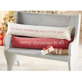 Skinny Lumbar Christmas Pillows