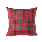 Oversized Tartan Pillow