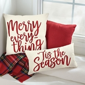 Christmas Canvas & Felt Pillows