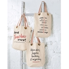 Grommeted Teacher Totes