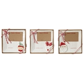 Holiday Character Treat Tray Sets