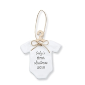 Baby's First 2018 Ceramic Ornament