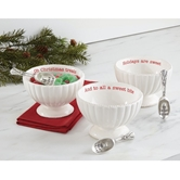 Holiday Candy Dish & Scoop Sets