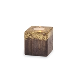 Small Gold Foil Candle Block