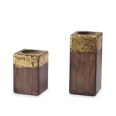 Medium & Large Gold Foil Candle Blocks