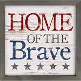 HOME OF THE BRAVE - 12X12