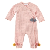 Pointelle Kimono One Piece-4a Infant Assortment