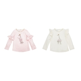 Dancing Animal Ruffle Tees