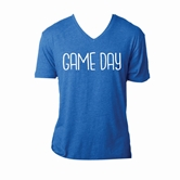 Gameday Royal V-Neck Assortment and FREE Display