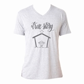 True Story Heather White V-Neck Assortment and FREE Display