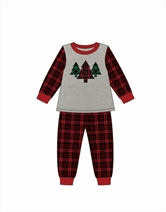 Christmas Trees Pajamas-Baby Love Assortment and FREE Display