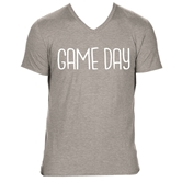 Gameday Heather Light Grey V-Neck Assortment and FREE Display