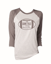 My Game Face includes Mascara 3/4 Sleeve T-Shirt Assortment & FREE Display