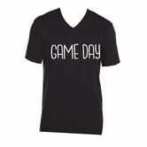 Gameday Navy V-Neck Assortment and FREE Display