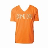 Gameday Orange V-Neck Assortment and FREE Display