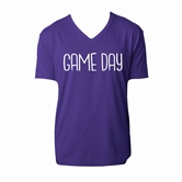 Gameday Purple V-Neck Assortment and FREE Display