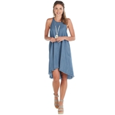 Ryan Swing Dress  Blue-3A