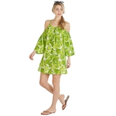 Lilly Coverup Green Palm-3A