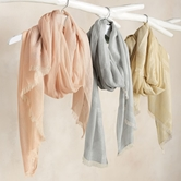 Neutral Shimmer Scarf-3A