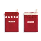 Merry Silverware Pockets - 2 Assorted