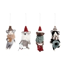 Cozy Felted Wool Cat Ornaments-4A