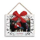Our Family Ceiling Tin Frame Ornament