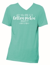 Cotton Pickin' Minute Sea Green V-Neck T-Shirt Assortment