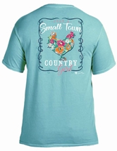 Just a Small Town Country Girl Chalky Mint T-Shirt Assortment