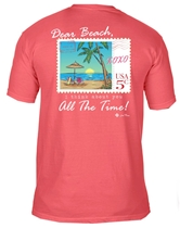 Dear Beach I Think about you All the Time Salmon T-Shirt Assortment