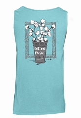 Wait Just a Cotton Pickin' Minute Chalky Mint Tank Top Assortment