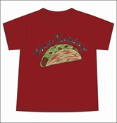 Taco Tuesday Red T-Shirt Assortment