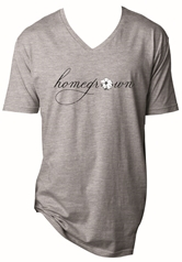 Homegrown Steel Grey V-Neck T-Shirt Assortment