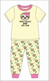 Sloth Pajama Set Assortment and FREE Display