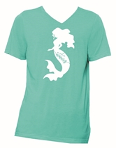 Make Waves Sea Green V-Neck T-Shirt Assortment