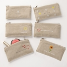 Paz•Itive Embroidered Pouches