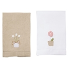 French Knot Tulip Towels