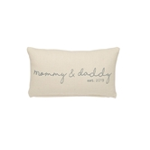 Mommy & Daddy 2019 Pillow