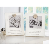 Baby Girl Magnetic Wood Frame
