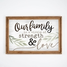 OUR FAMILY - 37X24.75