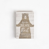 WE'RE BEARY - 3.5X5