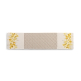 Yellow Floral Double Oven Mitt