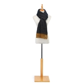 Knit Scarf - Gold and Navy