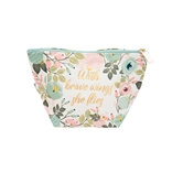 Carryall Mini Peach Floral Brave Wings