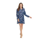 Navy Leaf Collins Cover Up Assortment