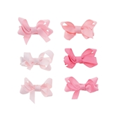 Pink Bitty Bow Set