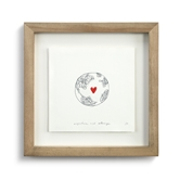 Anywhere and Always Wall Art - 9.5x9.5