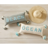 Ocean & Beach Tassel Pillows